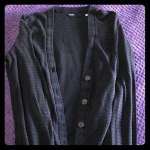 BDG black long sleeve cardigan size small